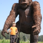 Arata Pumkin Farm King Kong Statue Half Moon Bay