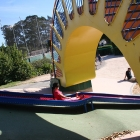 Dennis the Menace Park Roller Slide