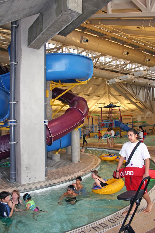 Silliman Aquatics Center Indoor Slides Pools Giant Hot